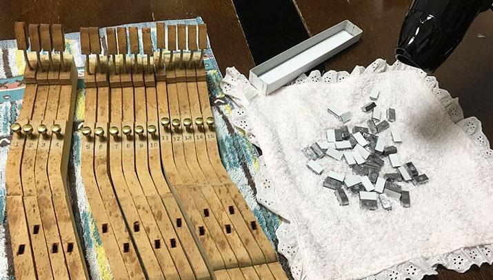 ピアノのメンテナンス2-1