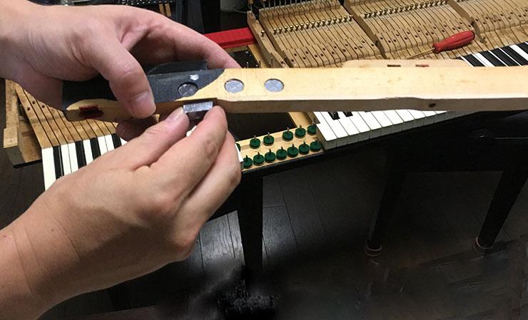 ピアノのメンテナンス2-2
